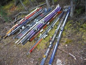 Skis for building projects or other ideas