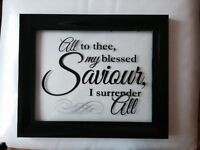 Need a great Wedding gift? Custom Family Name Frames