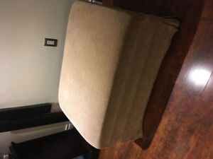 2 Oversized Chairs and Ottoman