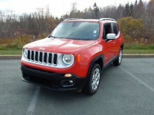 2017 Jeep RENEGADE LIMITED REMOVABLE ROOF!!! LOADED