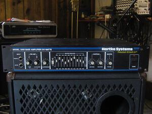 Tete d'ampli Hartke system 350 watts