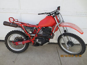 Honda XR500 Projects.1980 and 1981. $650.00 for Both. Red Deer