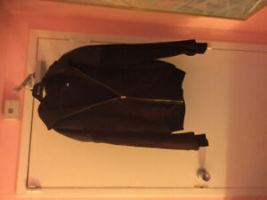 Gilbert Cohen, Montreal Leather & Suede Coat