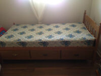 Free twin bed and mattress