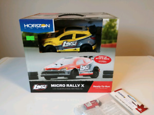 Losi Micro Rally X 1/24 scale Brushless 4WD RC car Brand New