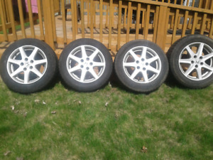 All Season Tires on rims