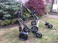 Three wheel Golf Trolley