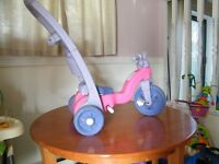 Tricycle et pousette Fisher Price