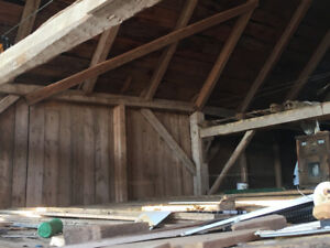 Reclaimed Beams and Boards