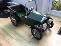 Child's Vintage Pedal car