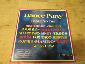 Dance Party - 1976 - 8 vinyl LP set - learn classic dance steps London Ontario image 1