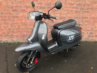 "Scomadi 125TL ""Carbon Effect"" Own this scooter for only £14.16 a week"
