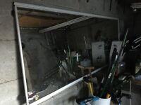 Giant mirror. Garage gym ??