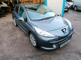 2008 peugeot 207 1.6 hdi sport gt 5 door £30 tax band diesel long mot