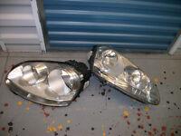 Set of Headlights for VW Golf
