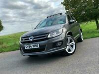 2014 64 VOLKSWAGEN TIGUAN 2.0 TDI BMT R LINE DSG 4 MOTION *PAN ROOF, LEATHER*