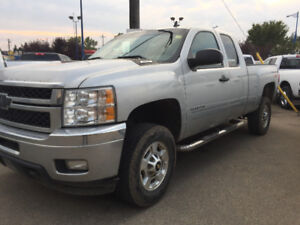 2011 CHEV 2500 E/C 4X4 ONLY $9995