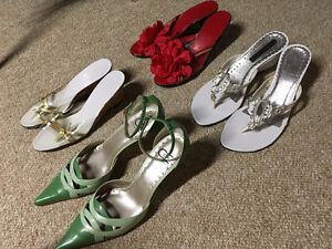 Retro sandals $15 for all 4