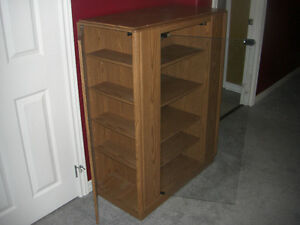 Cabinet - Good for Books, Videos or what-have-you $50