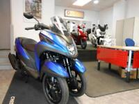 2018 YAMAHA MW 125 Tricity Scooter