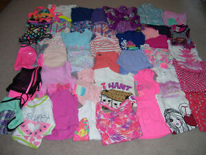 Girls' Size 7/8 Large Summer Lot!