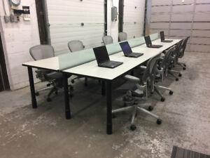 Shared Desks – Bench Desks – Co-working Desks and Tables