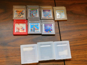 Selling gameboy color games