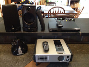 Budget priced home theatre projector package
