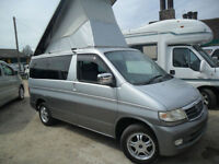 MAZDA BONGO 2.5 TURBO DIESEL LIFTING TOP 8SEATER MPV