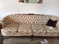 Antique sofa and chair in like new condition