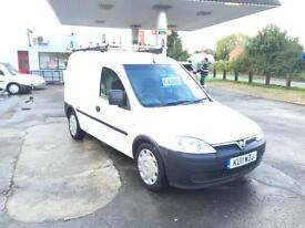 2011 Vauxhall Combo 1.7CDTi 16v 1700cc only 22 k 1 owner super condition £3750