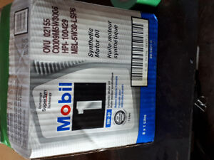 Mobil 5w-30 synthetic engine oil