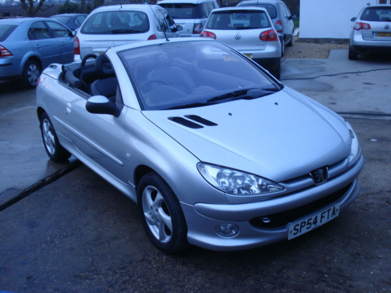 Peugeot 206 Cc 1 6 16v Convertible Allure Late 2004 54