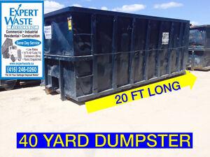 40 yard Garbage Dumpster Oakville / Halton Region Toronto (GTA) image 1
