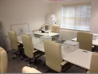 Office Desks White For Sale 5 in Total £75.00 the lot