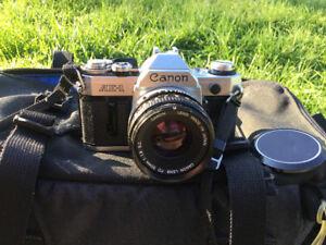 Canon A-1 camera