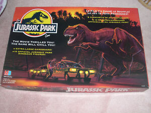 Jurassic Park board game. Complete.