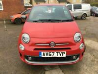 2018 Fiat 500 1.2 S Manual Red