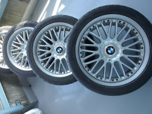 "BMW 20"" OEM (style 101) Rim/Tire Set Staggered  - $3,200"