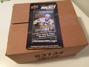 2008-09 Upper Deck series 1 boxes