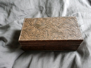 Faux leather gift or jewelry boxes