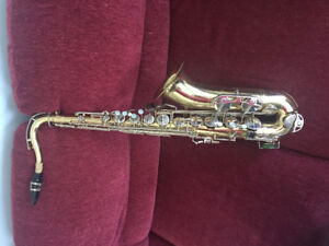 Tenor Saxophone by Selmer Music, with case