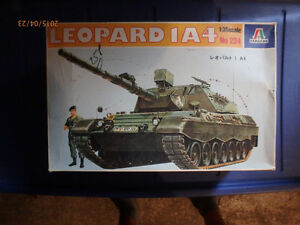 Italeri Leopard 1A4 Model Kit - 1:35 Scale - 2 available