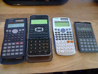 Scientific calculators for High school and University