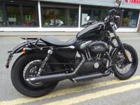 2009/59 Harley Davidson XL1200N Nightster, With low Miles and lots of Extra's