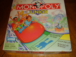 ENGLISH/FRENCH JUNIOR MONOPOLY