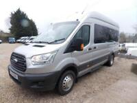 Ford Transit 125ps,17 seat Trend Minibus,tacho,psv