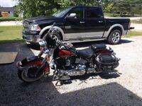 Nice classic Harley