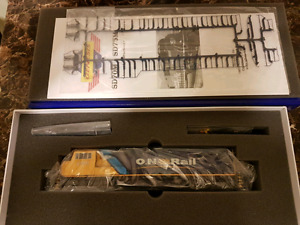 Never Used* Ontario Northland #2 HO Scale Model Train
