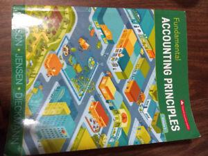Fundamental accounting principles 15th vol 1 & new connect code
